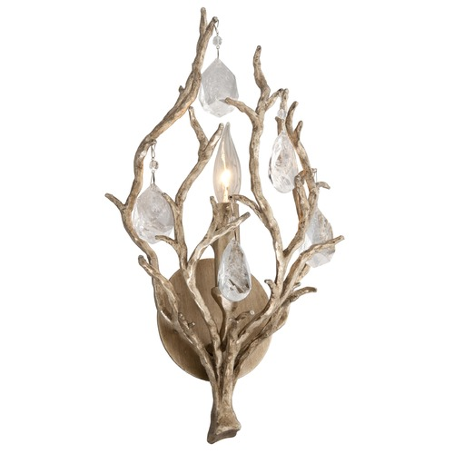 Corbett Lighting Corbett Lighting Enchanted Silver Leaf Sconce 205-11