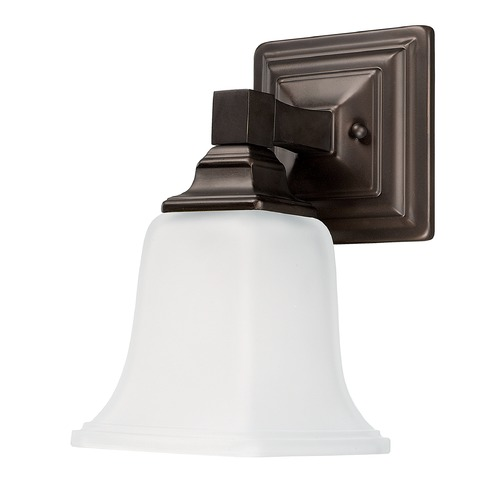 Capital Lighting Capital Lighting Capital Vanities Burnished Bronze Sconce 1061BB-142