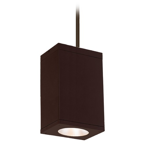 WAC Lighting Wac Lighting Cube Arch Bronze LED Outdoor Hanging Light DC-PD06-S827-BZ