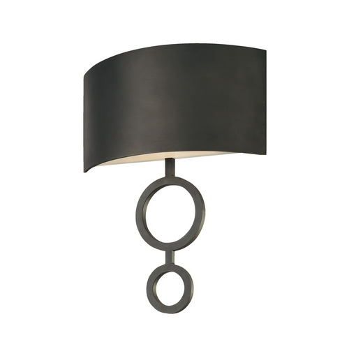 Sonneman Lighting Modern Sconce Wall Light in Rubbed Bronze Finish 1881.24