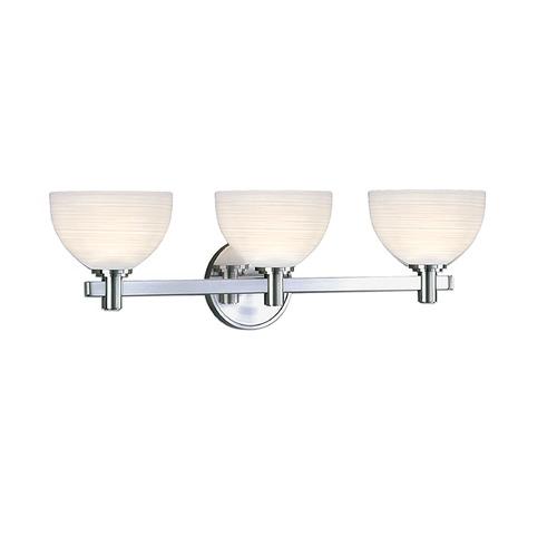 Hudson Valley Emergency Lighting: Hudson Valley Lighting Mercury Polished Chrome Bathroom
