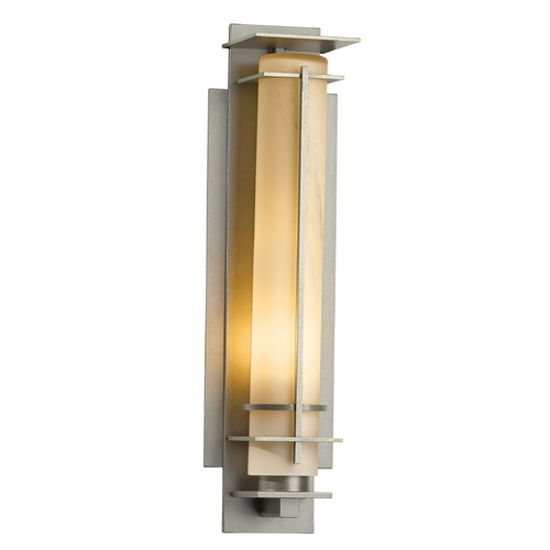 Hubbardton Forge Lighting Hubbardton Forge Lighting After Hours Burnished Steel Outdoor Wall Light 307858-08-H185