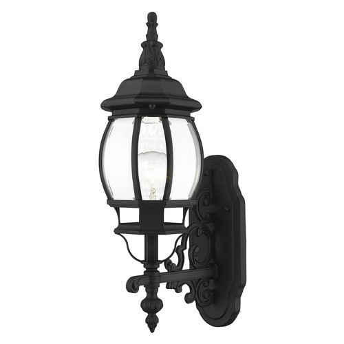 Livex Lighting Livex Lighting Frontenac Black Outdoor Wall Light 7520-04