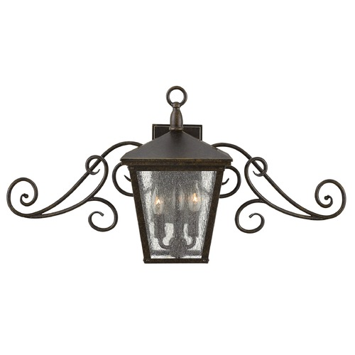 Hinkley Lighting Hinkley Lighting Trellis Regency Bronze LED Outdoor Wall Light 1433RB-LED