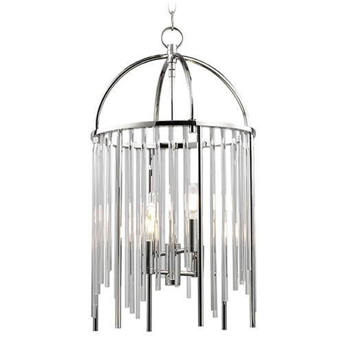 Hudson Valley Lighting Lewis 4 Light Pendant Light - Polished Nickel 2512-PN