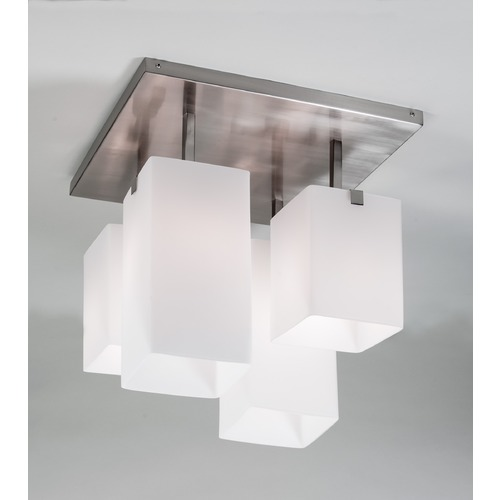 Illuminating Experiences Illuminating Experiences Symmetry Semi-Flushmount Light SYMMETRY3GCH