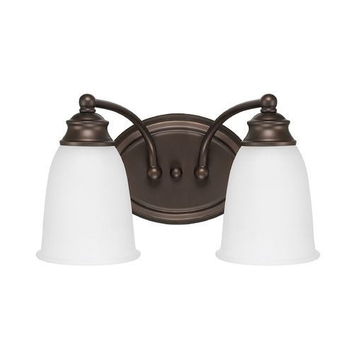 Capital Lighting Capital Lighting Capital Vanities Burnished Bronze Bathroom Light 1087BB-132