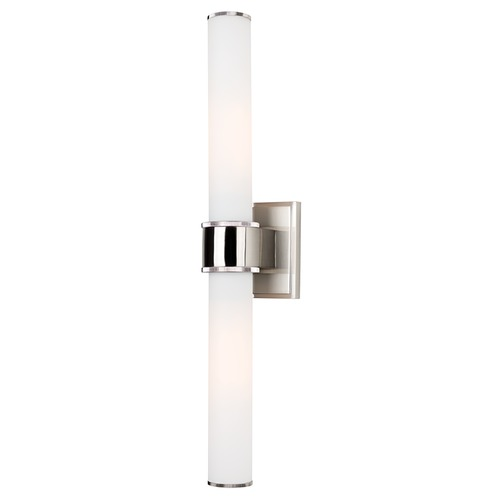 Vanity Lighting Vertical : Mill Valley Satin Nickel Bathroom Light - Vertical or Horizontal Mounting 1262-SN ...