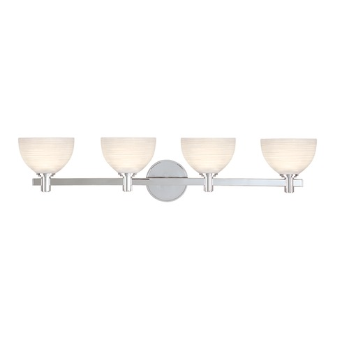 Hudson Valley Lighting Hudson Valley Lighting Mercury Polished Chrome Bathroom Light 1404-PC