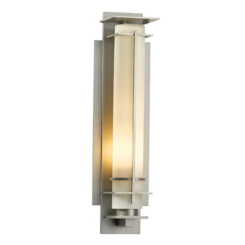 Hubbardton Forge Lighting Hubbardton Forge Lighting After Hours Burnished Steel Outdoor Wall Light 307858-08-ZX185