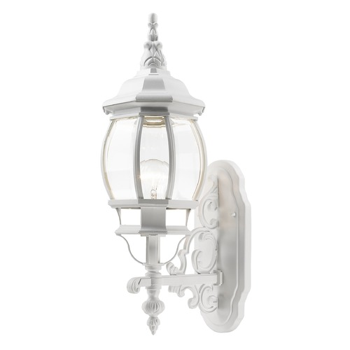 Livex Lighting Livex Lighting Frontenac White Outdoor Wall Light 7520-03