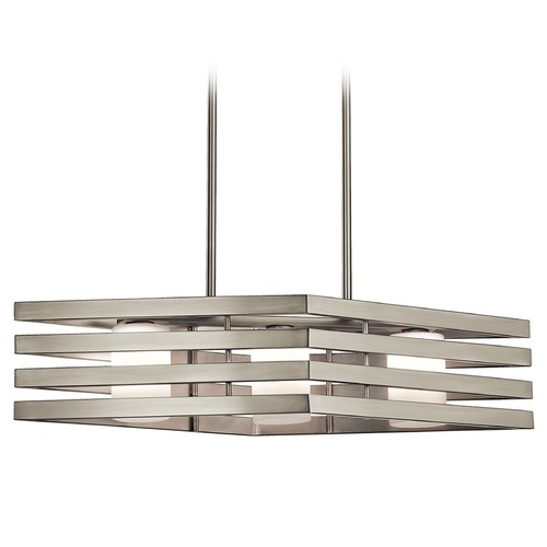 Kichler Lighting Kichler Lighting Realta Island Light with Cylindrical Shade 43686NI