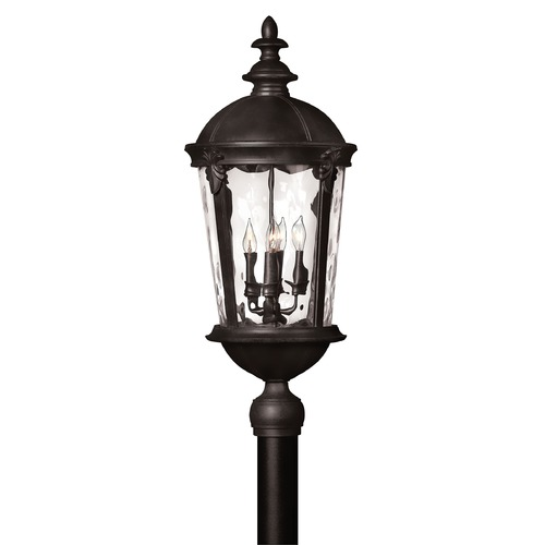 Hinkley Lighting Hinkley Lighting Windsor Black LED Post Light 1891BK-LED