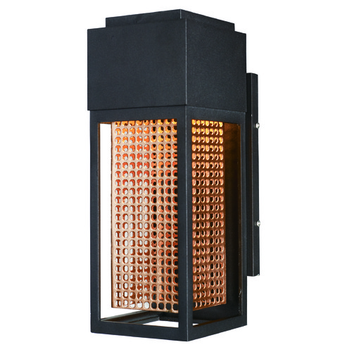 Maxim Lighting Maxim Lighting Townhouse Galaxy Bronze / Rose Gold LED Outdoor Wall Light 53597GBZRG