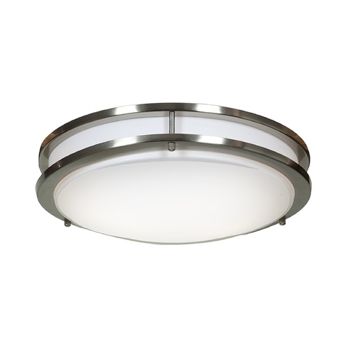 Access Lighting Access Lighting Solero Brushed Steel Flushmount Light 20465GU-BS/ACR