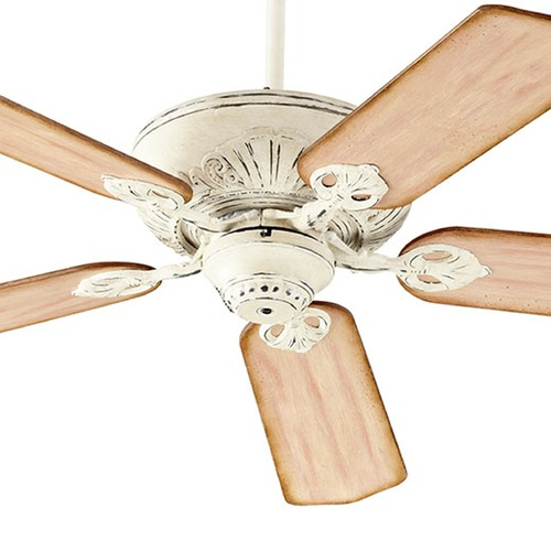 Quorum Lighting Quorum Lighting Chateaux Persian White Ceiling Fan Without Light 78605-70
