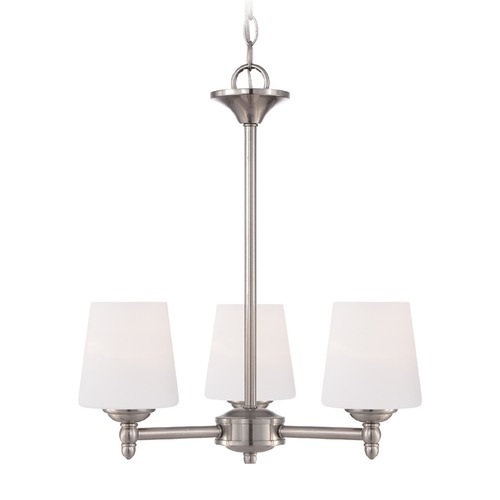 Designers Fountain Lighting Designers Fountain Darcy Brushed Nickel Chandelier 15006-3-35
