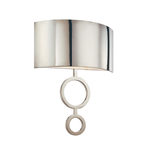 Sonneman Lighting Modern Sconce Wall Light in Polished Nickel Finish 1881.35