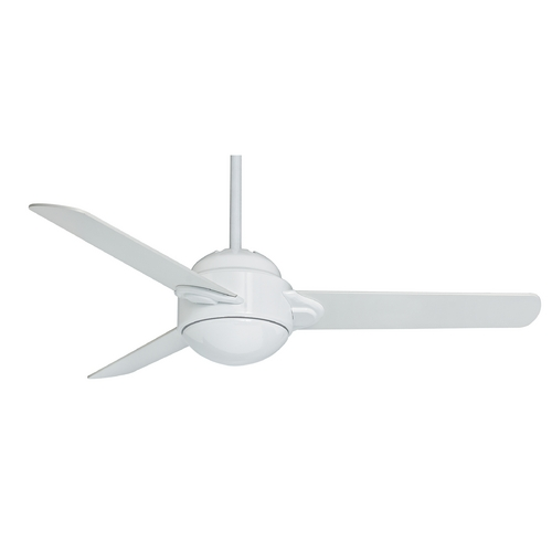 Casablanca Fan Co Casablanca Fan Trident Snow White Ceiling Fan with Light 59082