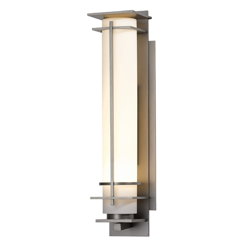 Hubbardton Forge Lighting Hubbardton Forge Lighting After Hours Burnished Steel Outdoor Wall Light 307860-SKT-08-GG0187