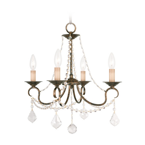 Livex Lighting Livex Lighting Pennington Venetian Golden Bronze Crystal Chandelier 6514-71