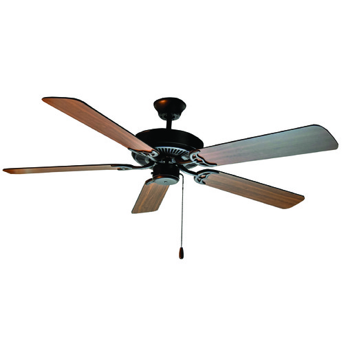 Maxim Lighting Maxim Lighting International Basic-Max Oil Rubbed Bronze Ceiling Fan Without Light 89905OIWP