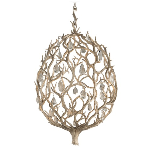 Corbett Lighting Corbett Lighting Enchanted Silver Leaf LED Pendant Light 205-43