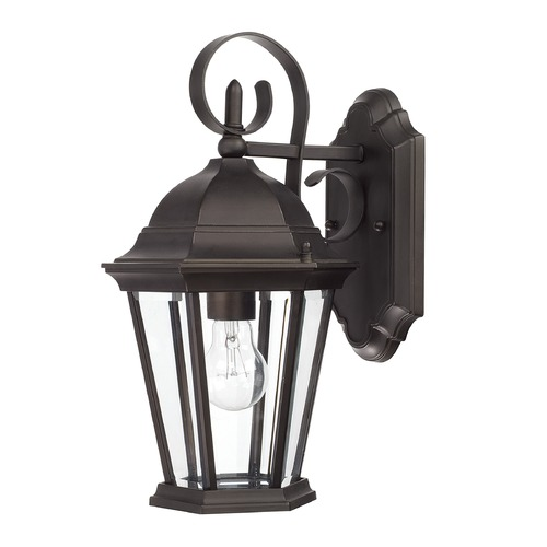 Capital Lighting Capital Lighting Carriage House Old Bronze Outdoor Wall Light 9726OB