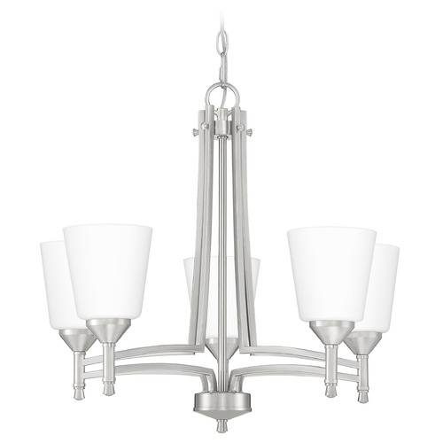 Quoizel Lighting Quoizel Lighting Billingsley Brushed Nickel Chandelier BLG5022BN