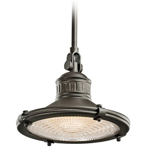 Kichler Lighting Kichler 10-Inch Vintage Style Mini-Pendant 42436OZ