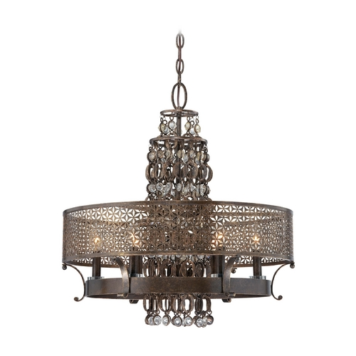 Metropolitan Lighting Chandelier in French Bronze Finish N6725-258