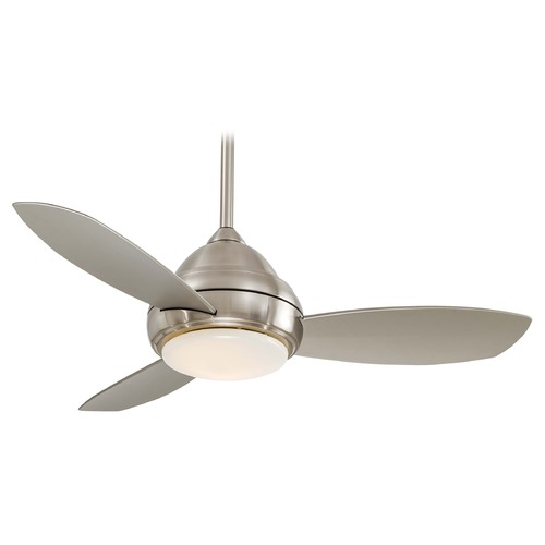 Minka Aire Fans 44-Inch Ceiling Fan with Three Blades and Light Kit F516-BN
