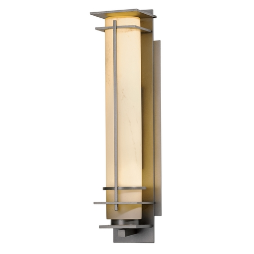 Hubbardton Forge Lighting Hubbardton Forge Lighting After Hours Burnished Steel Outdoor Wall Light 307860-08-H187