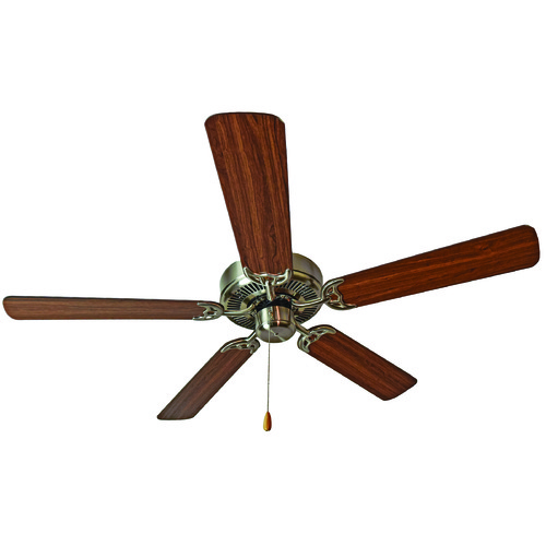 Maxim Lighting Maxim Lighting International Basic-Max Satin Nickel Ceiling Fan Without Light 89905SNWP