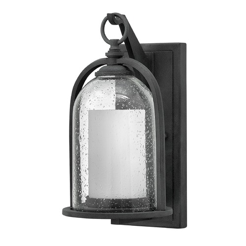 Hinkley Lighting Hinkley Lighting Quincy Aged Zinc Outdoor Wall Light 2614DZ