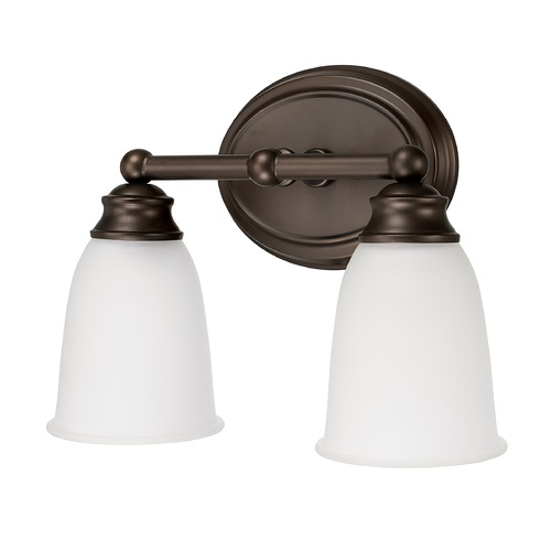 Capital Lighting Capital Lighting Capital Vanities Burnished Bronze Bathroom Light 1082BB-132