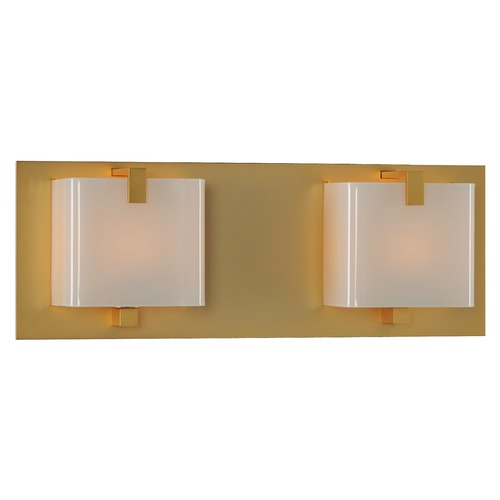 Kalco Lighting Kalco Lighting Meridian Gold Bathroom Light 313232GD