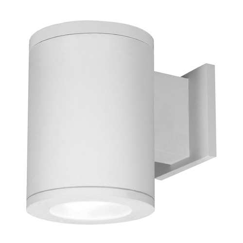 WAC Lighting 6-Inch White LED Tube Architectural Wall Light 2700K 2400LM DS-WS06-S927S-WT