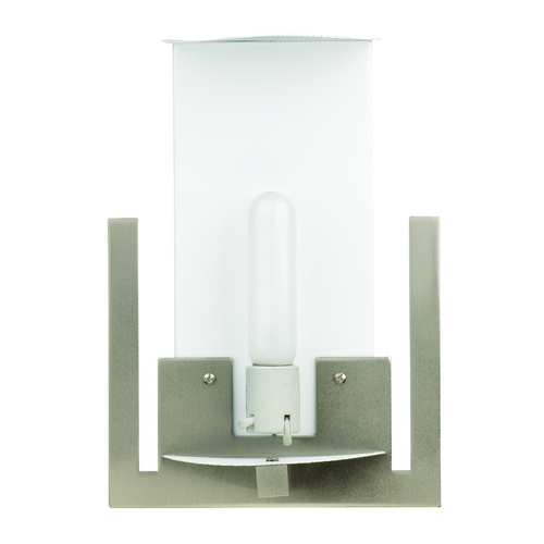 Philips Lighting Modern Sconce Wall Light in Satin Nickel Finish FB541236