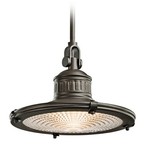 Kichler Lighting Kichler 12-Inch Vintage Style Pendant Light 42437OZ