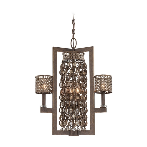 Metropolitan Lighting Chandelier in French Bronze Finish N6722-258