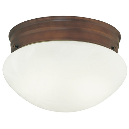 Design Classics Lighting 8-Inch Flushmount Mushroom Ceiling Light 29626
