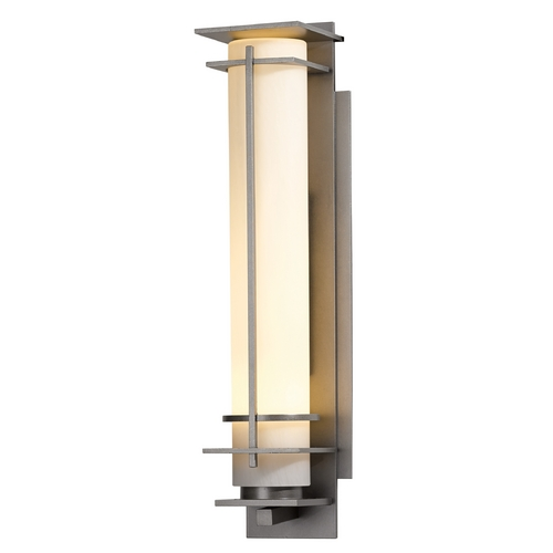 Hubbardton Forge Lighting Hubbardton Forge Lighting After Hours Burnished Steel Outdoor Wall Light 307860-08-ZX187