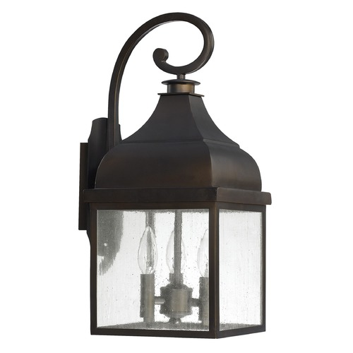 Capital Lighting Capital Lighting Westridge Old Bronze Outdoor Wall Light 9642OB
