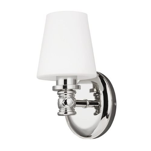 Feiss Lighting Feiss Lighting Xavierre Polished Nickel Sconce VS22101PN