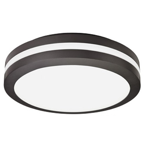 Lithonia Lighting Lithonia Lighting Bronze LED Close To Ceiling Light OLCFM15DDBM4