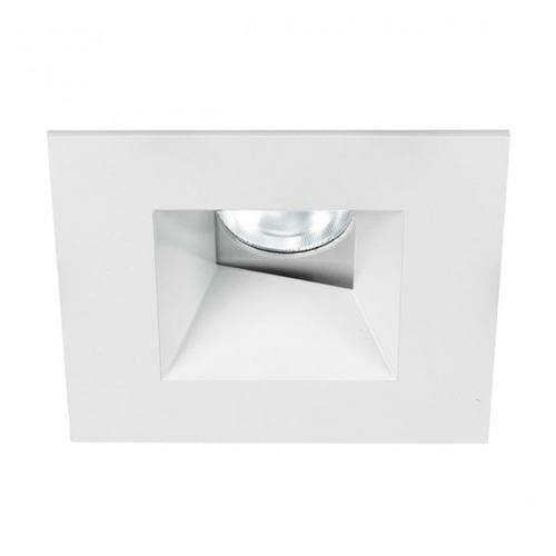 WAC Lighting WAC Lighting Square White 3.5-Inch LED Recessed Trim 2700K 1135LM 30 Degree HR3LEDT518PN827WT