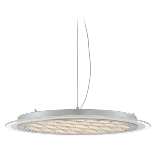 Lite Source Lighting Lite Source Lamont Silver LED Pendant Light LS-19570