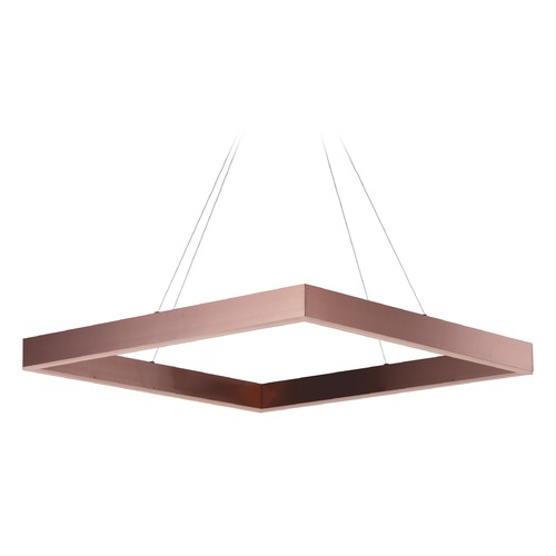 ET2 Lighting Metallika LED Satin Copper LED Pendant Light E24297-SC