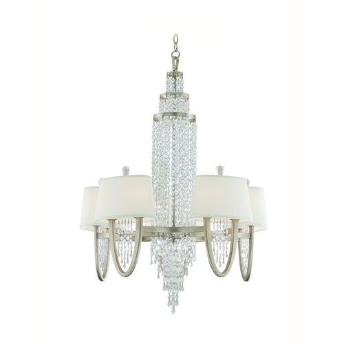 Corbett Lighting Corbett Lighting Viceroy Antique Silver Leaf Chandelier 106-010